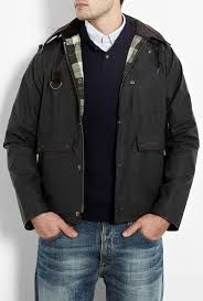 standen jacket, still on the barbour kick