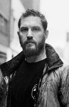 Tom Hardy photographed by David Bailey
