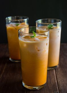 A super-cold tall glass of Thai Iced Tea is perfect for a hot summer afternoon (or anytime, really!) When we eat out at any Thai restaurant, I love a good Thai Iced Tea with a spicy meal. Here's how you can make your own Thai Iced Tea at home – for a fraction of the cost! 🙂...Read More »