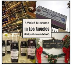 5 Weird & Unusual Museums in Los Angeles (you'll absolutely love!)  #lastory