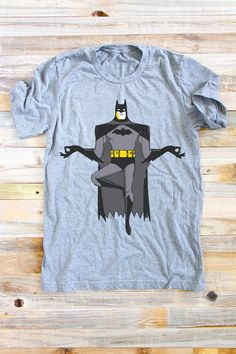 Batman Yoga Shirt