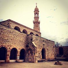 Mor Abraham Monastery in Midyat / Mardin / Turkey