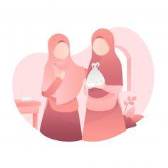 Couple Musulman, Poster Ramadhan, Islamic Wallpaper Hd, Maou Sama, Islamic Cartoon, Anime Muslim, Caricature, Hijab Cartoon, Dark Pictures