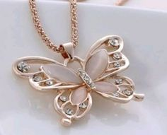 Rosie Butterfly Necklace