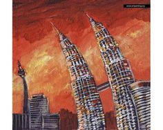 KLCC Painting Prints on Canvas by Tom Zoyah Product Code: KLCC006RZ-C Price : RM 48.00 If you are interested can visit artpainting.my/klcc