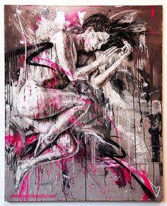 Graffiti : une femme nue by David Walker David Walker, Walker Art, Street Art Banksy, Graffiti Art, Font Art, Grunge Art, Spray Paint Art, Art Addiction, How To Draw Hair
