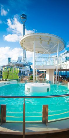 Anthem of the Seas | Whether it's getting loose in the whirlpool, carving it up in the surf simulator or ordering a nightcap martini from a robot, Anthem of the Seas lets you dance to your own tune.