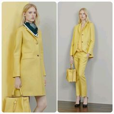 Mulberry.  Resort 2015. Yellow.  Find out more at designbeyondlimits.wordpress.com
