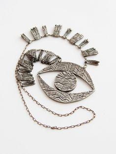 All for the Mountain Clairvoyance with Lashes Necklace « Pour Porter