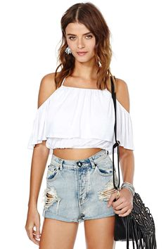 Nasty Gal Fiesta Forever Top | Shop Tops at Nasty Gal