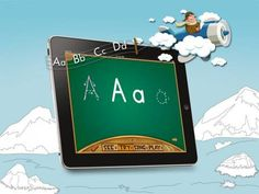 ABC's are Fun - a very solid all-around package for learning the letters of the alphabet.  Original Appysmarts score: 79/100  #apps #kids