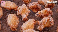 The BEST Salt and Pepper Chicken Wings Recipe & Video - Seonkyoung Longest