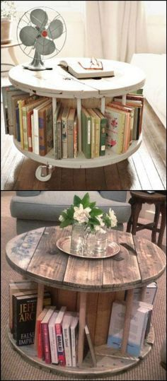 30 Extraordinary Ways to Repurpose Old Wooden Wire Spools