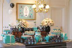 decoração festa paris azul - Pesquisa Google