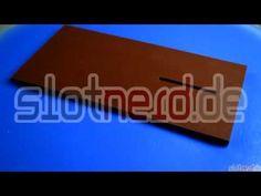 Richtplatte oder Montageplatte für Slotcars - YouTube