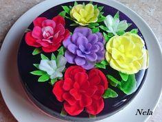 Gelatina floral