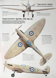 1941 Supermarine Spitfire - we have coasters with a spitfire photo on them, and also a desk-top SPitfire model (on http://www.aerosgifts.co.uk)