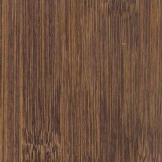 Bamboo floor in the color walnut