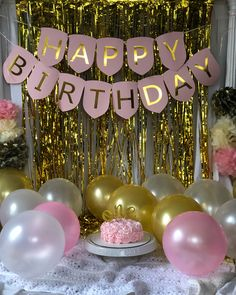 Birthday Goals, 18th Birthday Party, Birthday Diy, Birthday Photos, Birthday Wishes, Birthday Cake, Simple Birthday Decorations, Pool Party Decorations, Decoration Buffet
