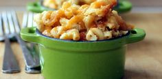 Three Cheese Slow Cooker Macaroni and Cheese -- didn't like it with parm, but like that I don't have to pre-cook noodles! Great Recipes, Favorite Recipes, Easy Recipes, Slow Cooker Recipes, Crockpot Recipes, Low Fat Cheese, Macaroni And Cheese, Mac Cheese, Pasta
