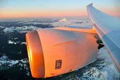 RR Trent 1000 - In flight on the 787