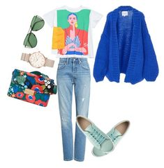 """Im sooo fresh"" by olgamalinowska on Polyvore featuring Levi's, Tory Burch, I Love Mr. Mittens, Sener Besim and ROSEFIELD"