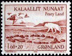 fox-postage-stamp-SlaniaGreenland -9-3-1981