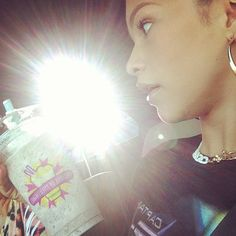 Dis411 Photo: Zendaya With A Shake From Millions Of Milkshakes June 15, 2013