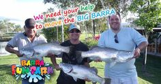 Have you ever caught a BIG BARRA? Get the BIG BARRA experience and help us out...