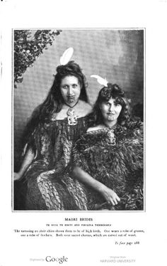 Maori Brides. 1900: Wooings and weddings in many climes ...by Miln, Louise…