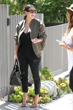 Out in Los Angeles. Getty Images  - ELLE.com