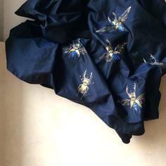 Silk Skirt hand-painted