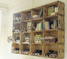Caisses à pommes, antiques, anciennes et boites en bois recyclésimage5