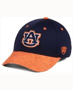 Top of the World Auburn Tigers Fable Stretch Cap - Navy/Orange M/L