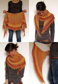 Free pattern Friday: Sunray Shawl | Espace Tricot Blog