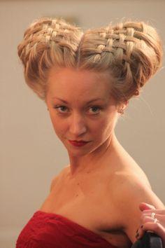 My Hair Blog: Four Elizabethan Hair Styles