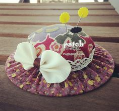 Patchmake. Blog de patchwork: Acerico sombrero