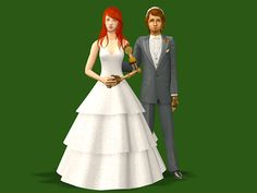 Robot armed wedding dress and tux for @galaxy-maiden I decided to use my 3t2 Beo Wedding 21 and the Tux from the Celebrations SP, because I like them! They're for adults only, have all morphs (added pregmorph to the tux), come in the original 3 and 5...