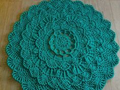Crochet Cowl Free Pattern, Crochet Rug Patterns, Crochet Mandala Pattern, Crochet Ripple, Crochet Circles, Doily Patterns, Irish Crochet, Crochet Designs, Crochet Doilies