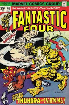Fantastic Four # 151 by Rich Buckler