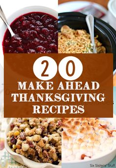 20 easy Thanksgiving recipes you can fix and forget for the crock pot! These crock pot Thanksgiving recipes make it easy to fix it and forget it so you can enjoy what's really important for the holidays - family and friends! Easy Thanksgiving Recipes, Thanksgiving Treats, Fall Recipes, Dinner Recipes, Christmas Recipes, Friends Thanksgiving, Thanksgiving Turkey, Christmas Desserts, Pumpkin Recipes