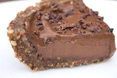 Vegana Tarta De Mousse De Chocolate