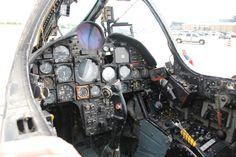 Vought F-8 Crusader (1958) - Evolution Of The American Jet Fighter Cockpit  Best of Web Shrine