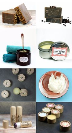 36 bath and beauty products to make and sell at local craft fairs, farmer's markets, boutiques and online shops.