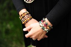 Layers of Hope Art bracelets make any outfit perfectly put together!