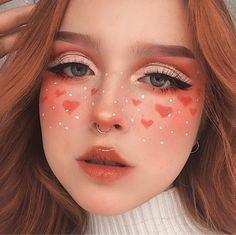 Cute Makeup Looks, Makeup Eye Looks, Eye Makeup Art, Crazy Makeup, Pretty Makeup, Beauty Makeup, Star Makeup, Women's Beauty, Beauty Room