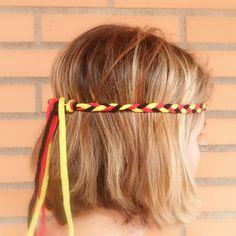 Germany headband for the World Cup 2014. Adult headband for women for German soccer fans. Oktoberfest costume Oktoberfest party