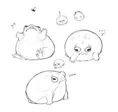 Frog Discover Seth Everman reaill: yeffyaboyuice: manwaifu: >:I Animal Drawings, Cute Drawings, Drawing Sketches, Frog Drawing, Animal Sketches, Dessin Old School, Frog Art, Arte Sketchbook, Cute Frogs