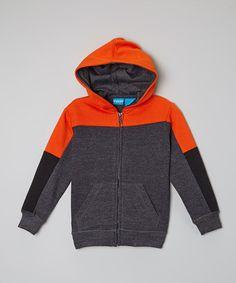 This Orange Block Hoodie - Toddler & Boys is perfect! #zulilyfinds