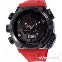 Offshore Limited OFF001SHL-R-01 Force 4 Shadow mens watch red